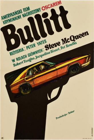 Bullitt - Polish Style Poster