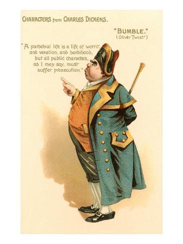 Bumble di Oliver Twist Stampa artistica