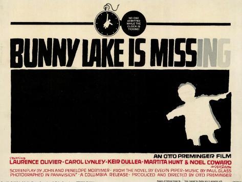 Bunny Lake is Missing, 1965 Premium Giclee Print