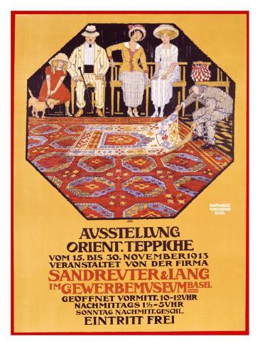 Orient Teppiche Giclee Print