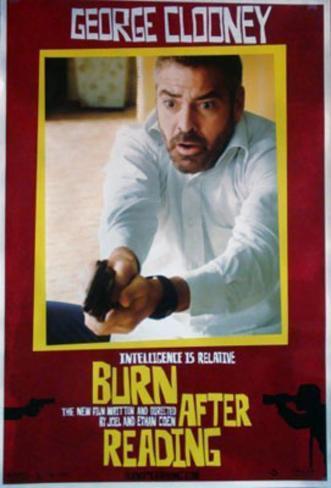 Burn After Reading Original Poster