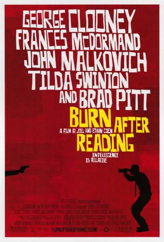 Burn After Reading Masterprint