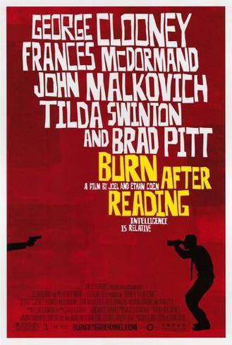 Burn After Reading ポスター