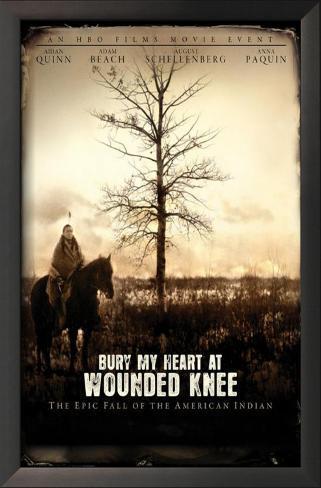 Bury My Heart at Wounded Knee Impressão artística emoldurada