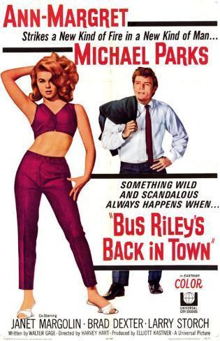 Bus Riley's Back in Town Masterprint