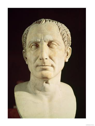 Bust of Julius Caesar (100-44 BC) Giclee Print