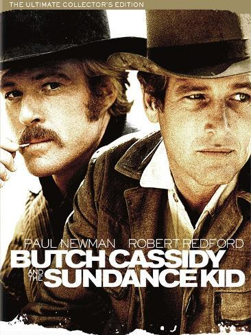 Butch Cassidy and the Sundance Kid, 1969 Art Print
