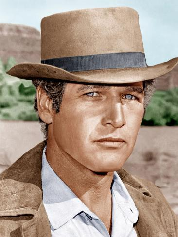 Butch Cassidy and the Sundance Kid, Paul Newman, 1969 Photo