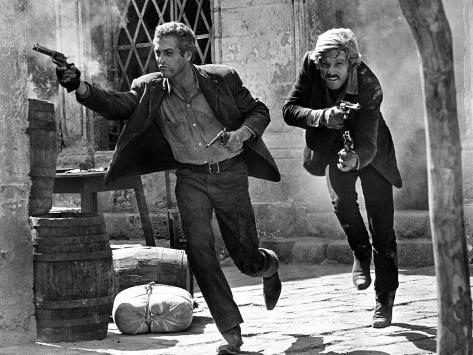 Butch Cassidy and the Sundance Kid, Paul Newman, Robert Redford, 1969 Fotografia
