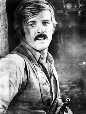 Butch Cassidy and the Sundance Kid, Robert Redford, 1969 Photo