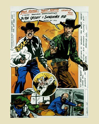 Butch Cassidy Art Print