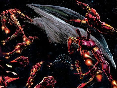 The Invincible Iron Man No.19 Group: Iron Man Poster