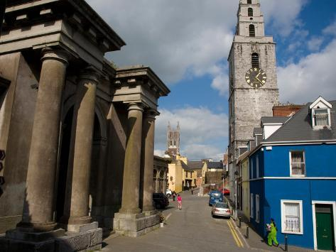 Butter Exchange and St Anne's Church, Shandon, Cork City, Ireland Photographic Print