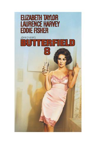 BUtterfield 8 - Movie Poster Reproduction Premium Giclee Print