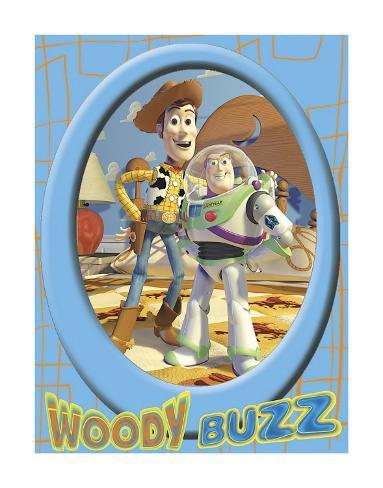 Buzz and Woody Art Print