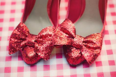 Dorothy Shoes Impressão fotográfica