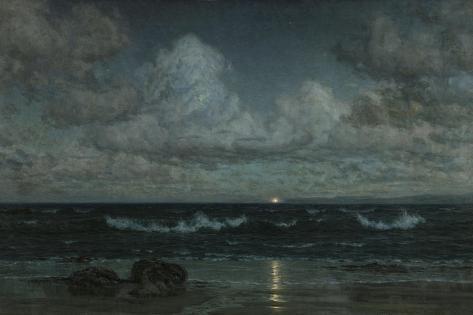 Godrevy Light, Cornwall, 1903 Giclee Print
