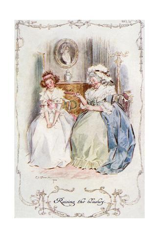 Marianne Dashwood, Austen Giclee Print