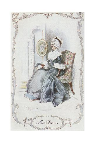 Sense and Sensibility Giclee Print