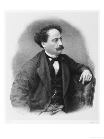 Alexandre Dumas Fils French Novelist Giclee Print