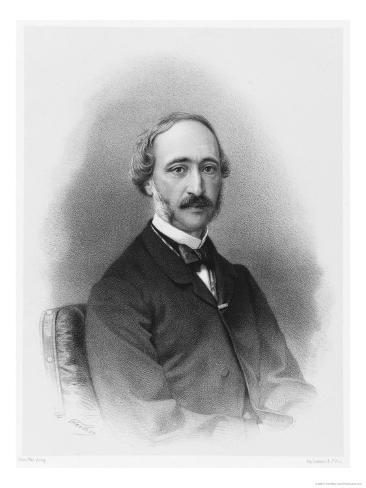 Alexandre-Edmond Becquerel French Physicist in 1865 Giclee Print