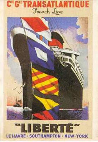 C.G. Transatlantique Art Print