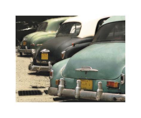 Cuban Cars IV Giclee Print
