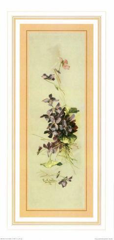 Bouquets II Art Print