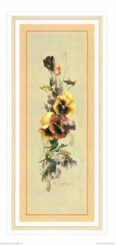 Bouquets III Art Print