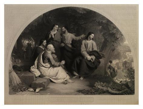 Christ Weeping Over Jerusalem Art Print