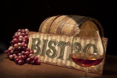 Bistro II Impressão fotográfica