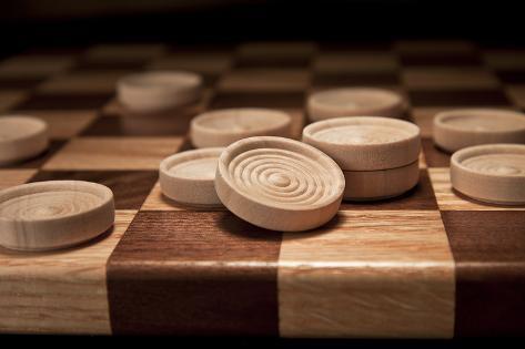 Checkers II Impressão fotográfica