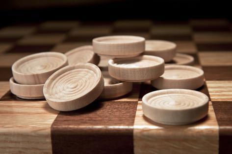 Checkers III Impressão fotográfica