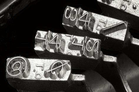 Typewriter Symbols Sq Impressão fotográfica