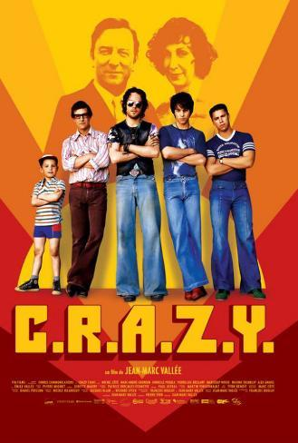 C.R.A.Z.Y. - French Style Poster
