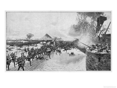 Battle of Leuthen Frederick II (The Great) Leads Prussian Forces to Victory Over the Austrians Giclee Print