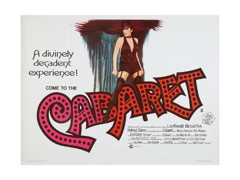 Cabaret, 1972 Lámina giclée