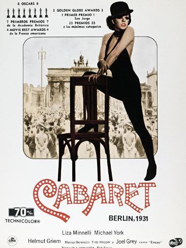 Cabaret, 1972 Impressão giclée
