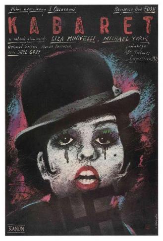 Cabaret - Polish Style Poster