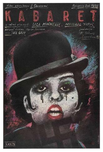 Cabaret Stretched Canvas Print