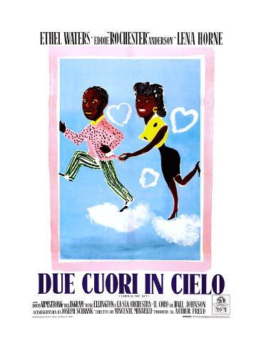 Cabin in the Sky, (aka Due Cuori in Cielo), Italian Poster Art, 1943 ジクレープリント