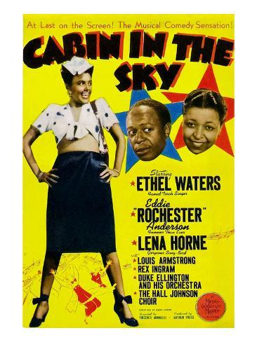 Cabin In The Sky, Lena Horne, Eddie 'Rochester' Anderson, Ethel Waters, 1943 Foto