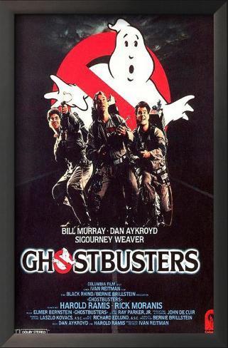 Caça-Fantasmas (Ghostbusters) Impressão artística emoldurada