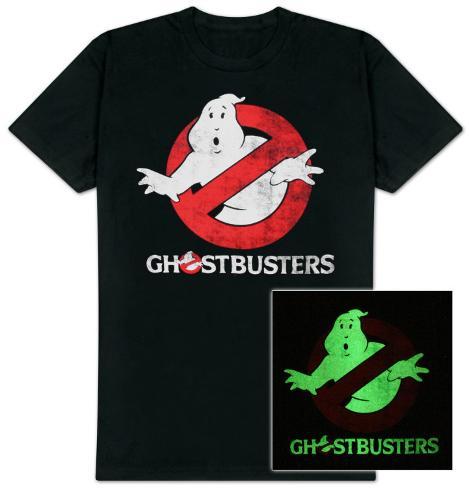 Caça-Fantasmas – Logotipo (brilha no escuro) Camiseta