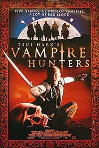 Caçadores de Vampiros de Tsui Hark Pôster original
