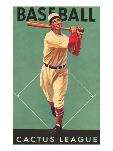 Cactus League Baseball, Arizona Art Print