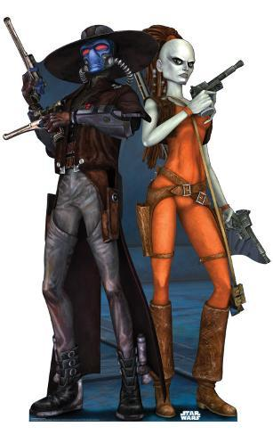 Cad Bane - Clone Wars Stand Up