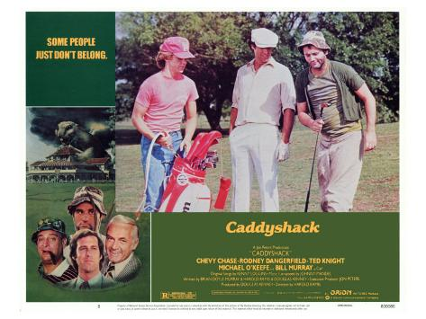 Caddyshack, 1980 Stretched Canvas Print