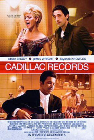 Cadillac Records Double-sided poster