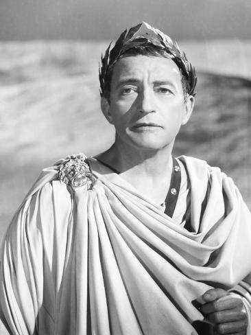 Caesar and Cleopatra, Claude Rains as Julius Caesar, 1945 Fotografía